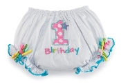 Mudpie Birthday Girl Bloomers