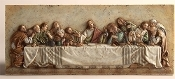 "12.5"" Last Supper Wall Plaque"