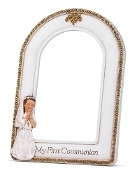 "8"" 4x6 Communion Girl Frame"