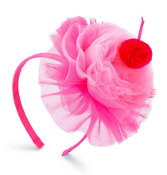 Mudpie Light Pink/Hot Pink Cupcake Headband