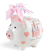 Mudpie Little Princess Castle Piggy Bank