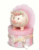Mudpie Mini Ballerina Piggy Bank