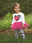 Mupie Zebra Tunic & Legging Set