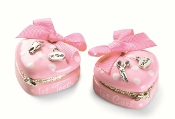Mudpie Princess Heart 1st Tooth & Curl Set