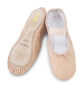 Bloch Arise Full Sole Leather Ballet Shoe Pink