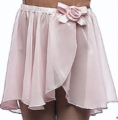 Dasha Girls Chiffon Rosette Pull-On