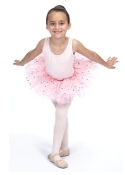 Dasha Foil Flower Layered Tutu
