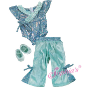 "18"" Doll Jazz Outfit - 3 Pc Set"