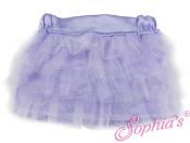 "18"" Doll Lavender Tulle Tiered Skirt"