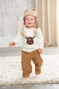 Mudpie Moose Top and Pant Set