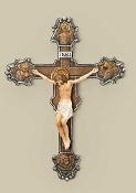 "10"" THE EVANGELIST CRUCIFIX"