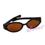"18"" Doll Black Framed Sunglasses"