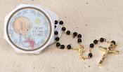 Precious Moment Communion Boy Rosary/Case
