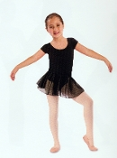 Leo Child's Short Sleeve Skirted Leotard