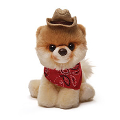 Itty Bitty Boo with Cowboy Hat