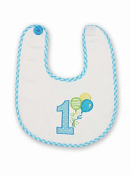 Baby Bearington His First Birthday Bib