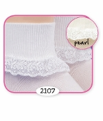 Jefferies Chantilly Lace Socks