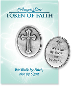 Angelstar Tokens of Faith We Walk By Faith