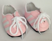 "18"" Doll Pink Soccer Shoes"