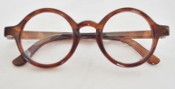 "18"" Doll Brown Round Glasses"