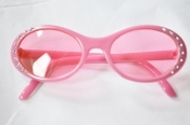"18"" Doll Pink Rhinestone Glasses"
