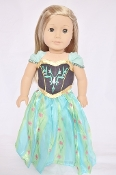 "18"" Doll Anna Coronation Dress"