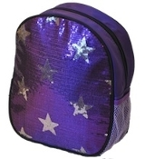 Sequin Star Dance Bag Purple