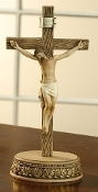 "8.5"" Wall Crucifix & Base Set"