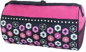 Flowers & Dots Duffel Bag Blank