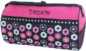 Flowers & Dots Dance Duffel Bag