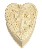 Angelstar Keepsake Heart Box