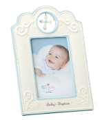 4x6 Nat and Jules Baby Boy Baptism Frame