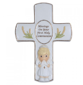 P.Moment Blessings On Your First Holy Communion - Girl Cross