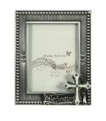2x3 Silver Confirmation Frame
