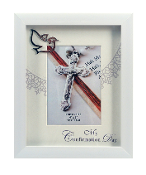 4x6 White Confirmation Frame