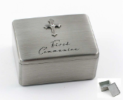 Pewter Confirmation Box