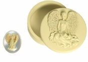 Angelstar Angel and Baby Trinket Box and Stone Set