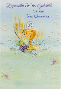 GREETING CARD - GODCHILD COMMUNION