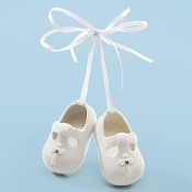 White Porcelain Baby Shoes
