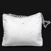 White Organza Purse with Crystals/Beads,Communion,Communion Dress,First Holy Communion,First Holy Communion Dress,First Holy COmmunion Suit,Communion Suit Mississauga,Communion Dress Mississauga,Communion