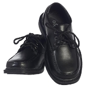 Boys Matte Shoe with Laces