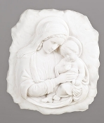 "8.5"" Madonna & Child Plaque"