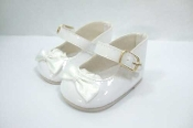 "18"" Doll White Mary Janes"