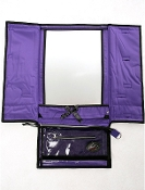Rac N Roll Purple Hanging Mirror