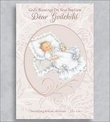 GREETING CARD - Godchild