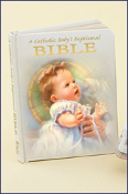 A Catholic Baby's Baptismal Book of Prayers