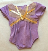 "18"" Doll Isabelle's Purple Leotard"