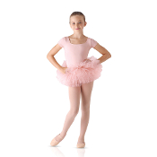 Leo Child's Tutu Skirted Cap Sleeve Leotard