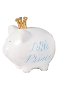 Mudpie Crown Prince Piggy Bank