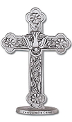 Pewter Confirmation Standing Cross